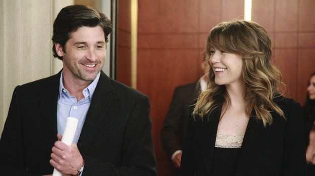 Derek Shepherd and Meredith Grey (Grey's Anatomy)