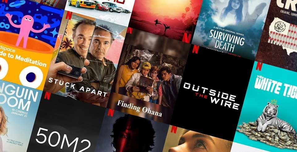 January 2021 Netflix Movies & TV Series