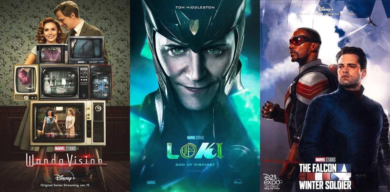 Loki Wandavison falcom trailer