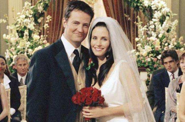 Monica Geller and Chandler Bing (Friends)
