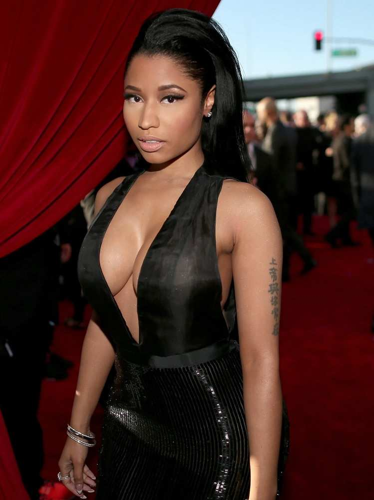 Nicki Minaj Grammy Awards 57th