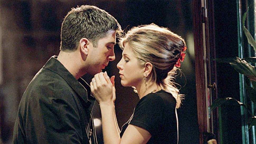 Ross Geller and Rachel Green (Friends)