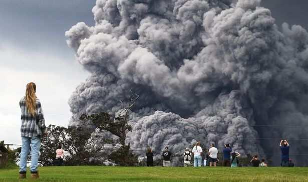 Volcano Eruption in Hawaii