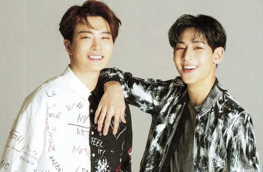 Bambam and youngjae