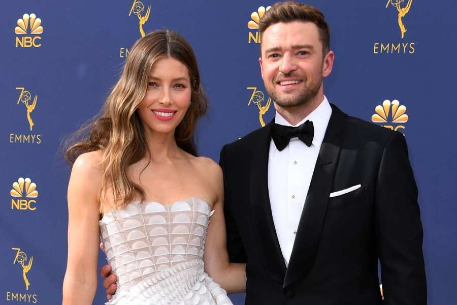 Justin Timberlake and His Wife Jessica Biel