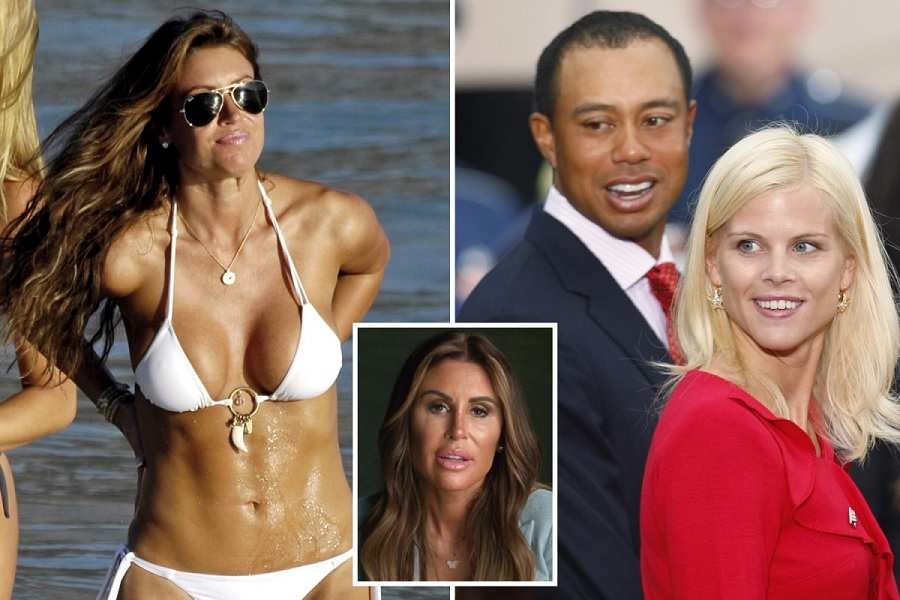 Rachel Uchitel Says She  Was Not a Mistress When Asked About Tiger Woods in Live Interview, Gets Emotional
