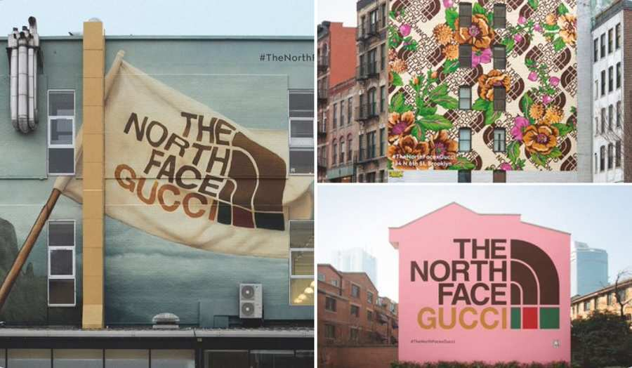 Behind the Scenes of Gucci and The North Face's All-Star Collaboration