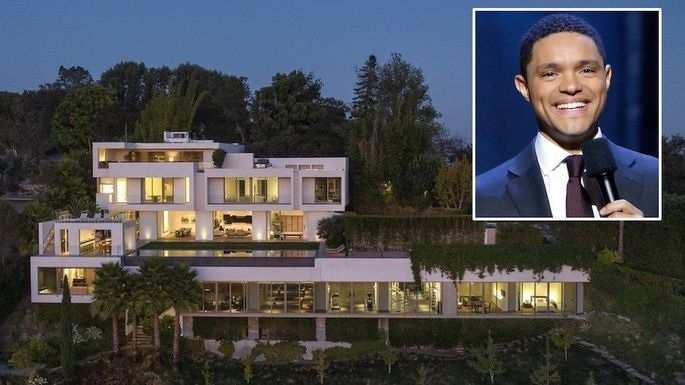 Trevor Noah bought Bel-Air Mansion