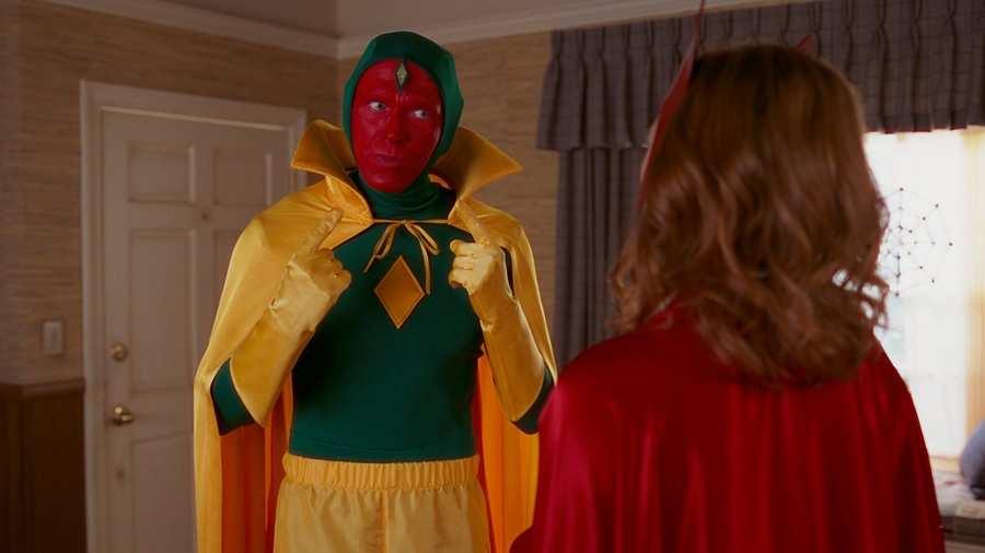 Vision's costume