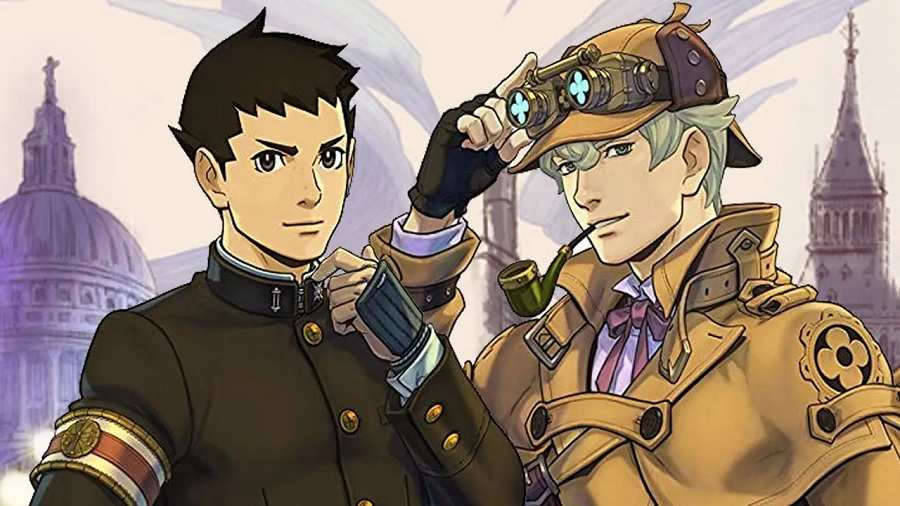 Capcom's The Great Ace Attorney
