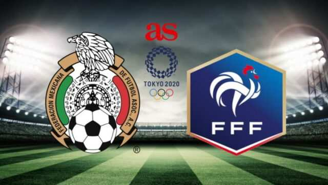 France vs Mexico Olympic 2020