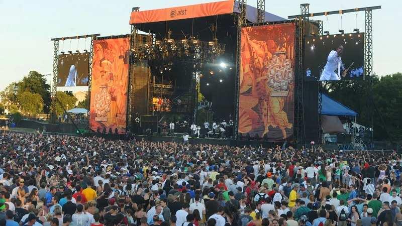 Lollapalooza 2021 Crowd