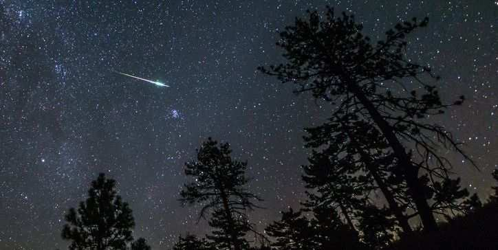 Meteor Shower USA 2021