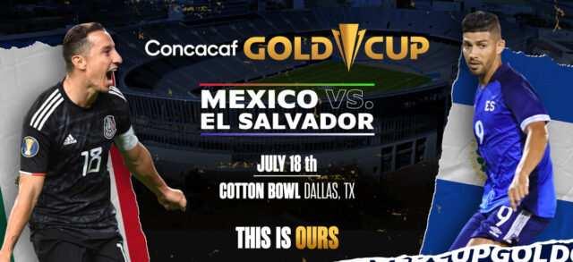 Mexico Defeated El Salvador in Tight Gold Cup Game