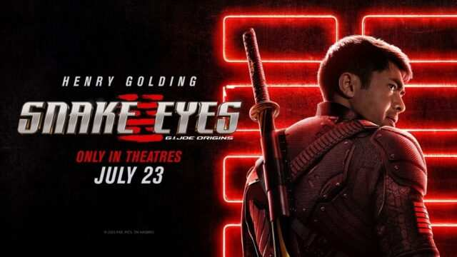 Snake Eyes Theatrical Poster