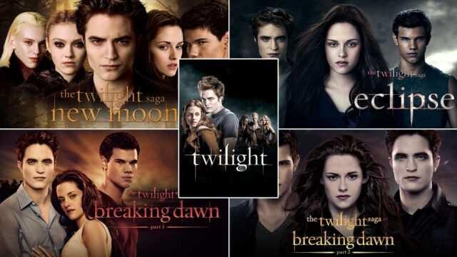 The Twilight Film Series Released on Netflix