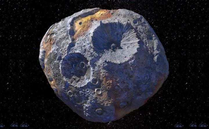 16 Psyche Made of Gold Asteroid