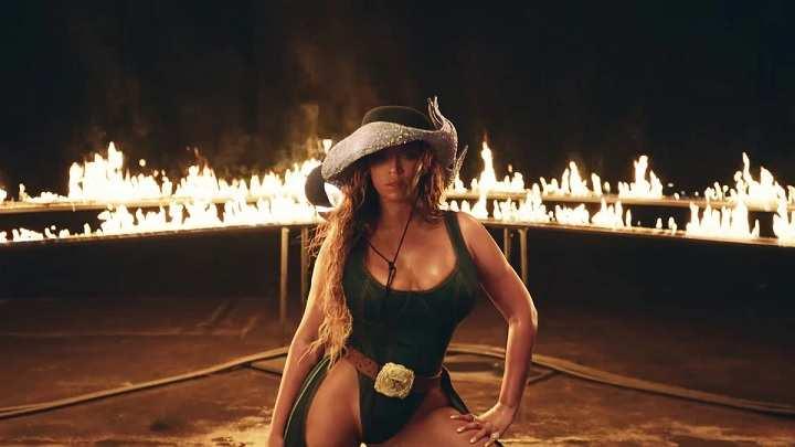 Beyoncé Cowboy Collection Advert
