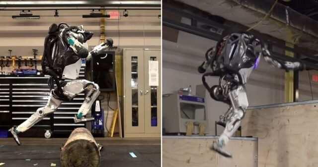 Boston Dynamics Atlas Robot Poster