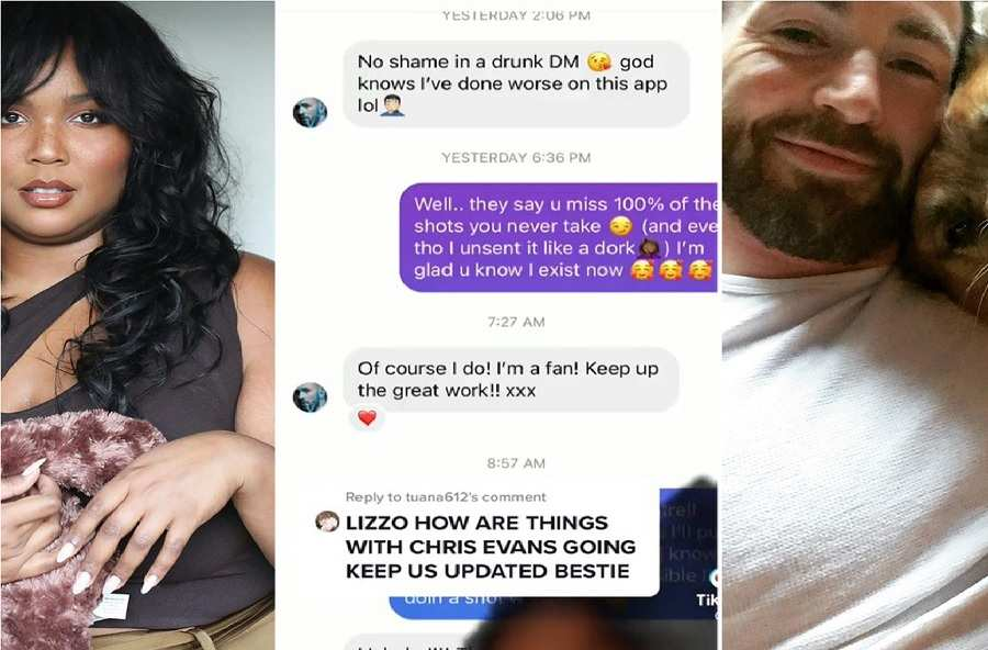 Chris and Lizzo Message