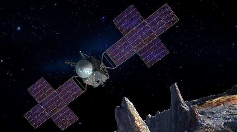 Mining on Asteroid 16 Psyche