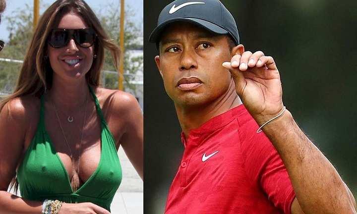 Rachel Uchitel and Tiger Woods