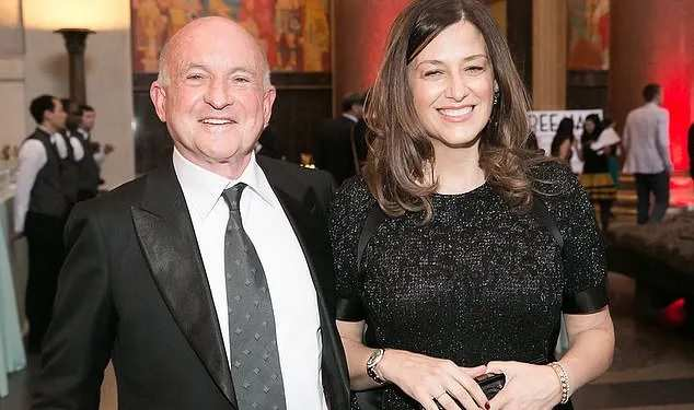 Richard Robinson and girlfriend Iole Lucchese