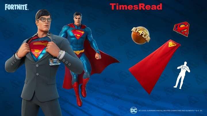 Superman Skin Fortnite