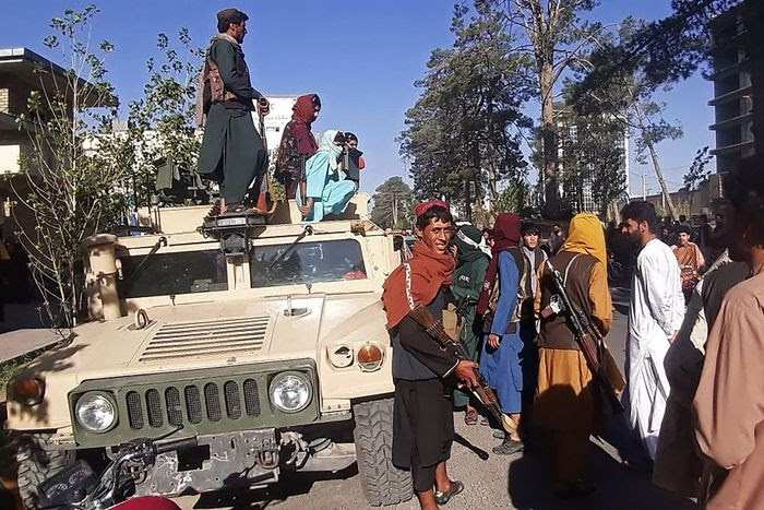 Taliban Enters kabul 2