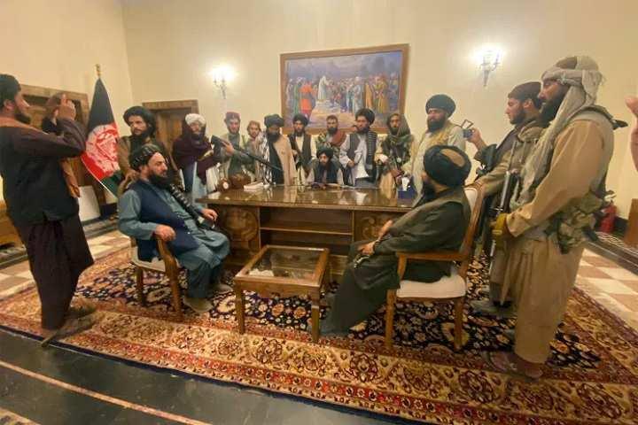 Taliban Takes Office Kabul