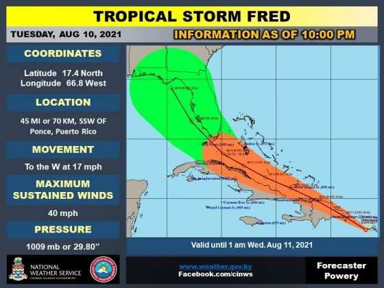 Tropical Storm Fred 4