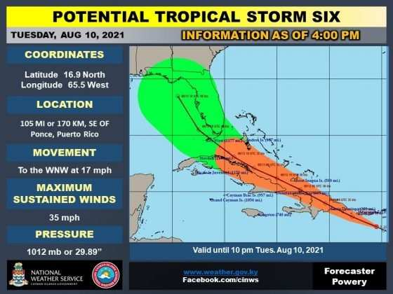Tropical Storm Fred 5