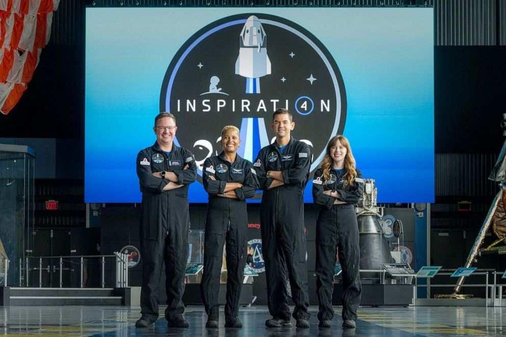 Inspiration4 Crew members